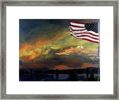 9-11 Framed Print by Stan Hamilton
