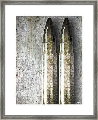 Terror Framed Print by Tony Rubino