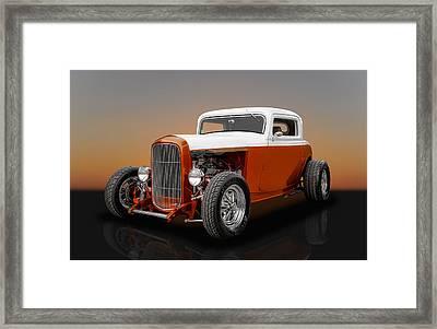 1932 Ford 3 Window Framed Print