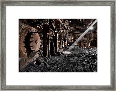 Abandoned Places                     Framed Print