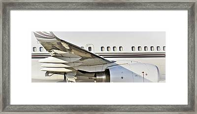 Aircratft Untitled Framed Print