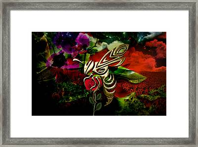 Bee Collection Framed Print by Marvin Blaine