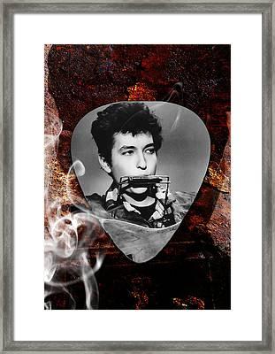 Bob Dylan Art Framed Print by Marvin Blaine