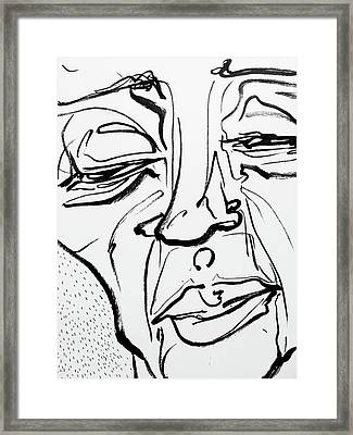 9 Framed Print by Brian Kendall James