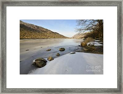 Brothers Water Framed Print by Nichola Denny