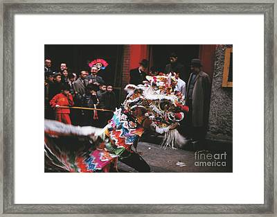 Chinese New Year 1963 Framed Print
