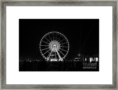 Coachella Music Festival 2015 Framed Print by Art K