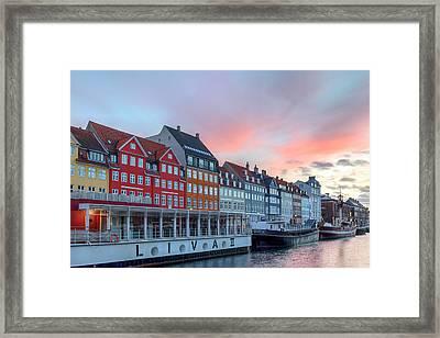 Copenhagen - Denmark Framed Print