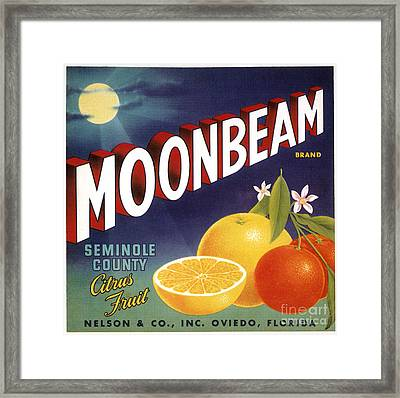 Crate Label, 20th Century Framed Print by Granger