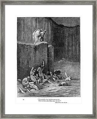 Dante: Inferno Framed Print by Granger