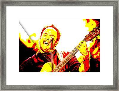 Dave Matthews Collection Framed Print