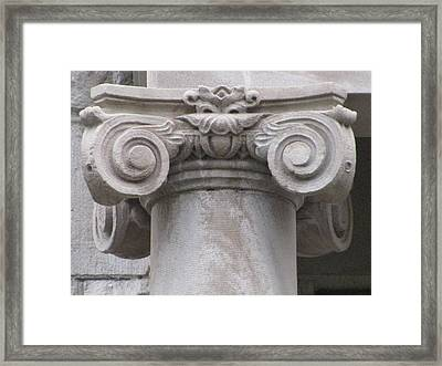 Embellishment Series Framed Print by Ginger Geftakys