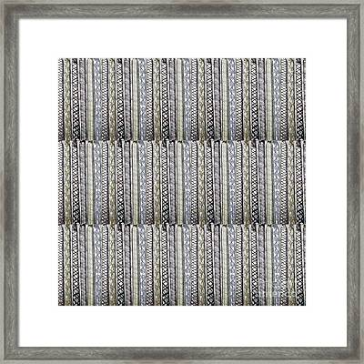 Fineart From Wire Mesh Jewellery Unique Patterns N Textures By Navinjoshi At Fineartamerica.com Usa  Framed Print by Navin Joshi