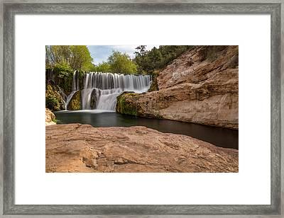 Fossil Creek Springs Framed Print