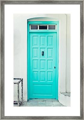 Front Door Framed Print