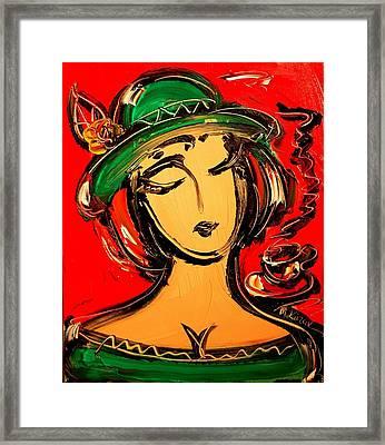 Girl Framed Print by Mark Kazav