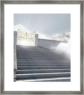 Heavens Gates Framed Print