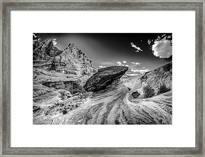 Hoodoos At Stud Horse Point In Arizona Framed Print by Alex Grichenko
