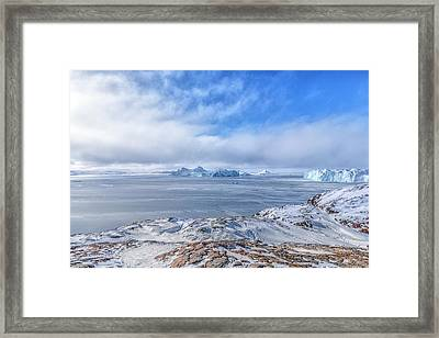 Icefjord - Greenland Framed Print by Joana Kruse