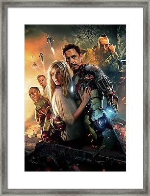 Iron Man 3 Framed Print