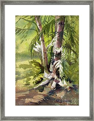 It's A Jungle Out There Framed Print by Kris Parins