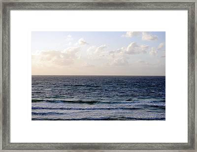 Jaffa Beach 1 Framed Print by Isam Awad