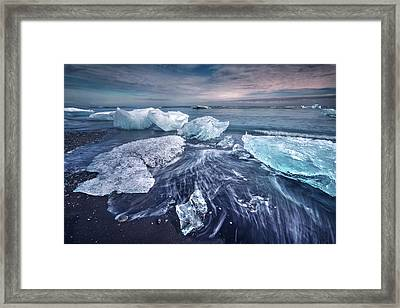 Jokulsarlon - Iceland Framed Print by Joana Kruse