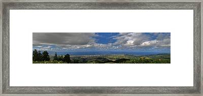 Landscapespanoramas Framed Print