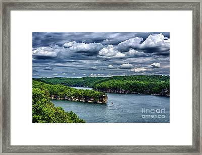 Long Point Summersville Lake Framed Print