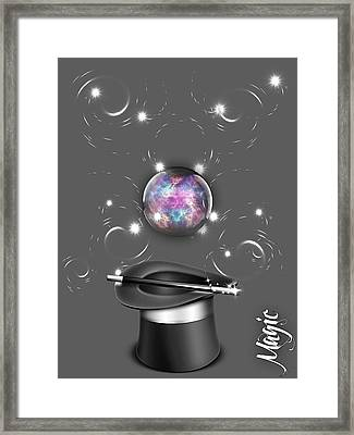 Magic Collection Framed Print by Marvin Blaine