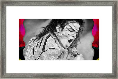 Michael Jackson Collection Framed Print