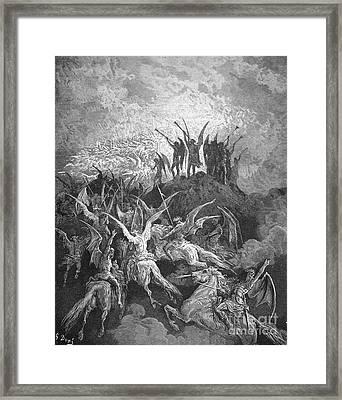Milton: Paradise Lost Framed Print by Granger