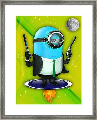 Minions Collection Framed Print by Marvin Blaine