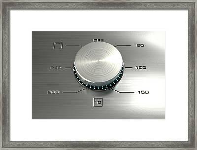 Modern Oven Closeups Framed Print