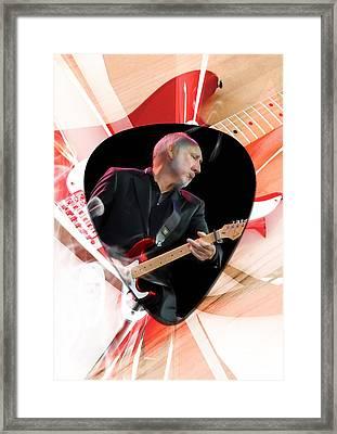 Pete Townshend Art Framed Print