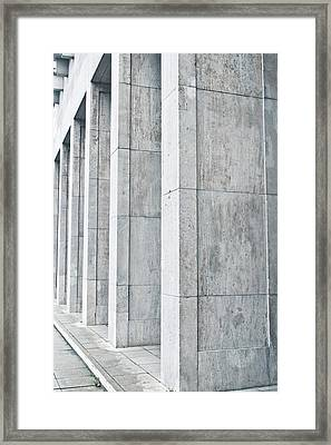 Pillars Framed Print