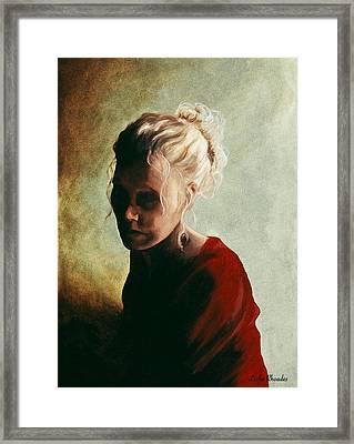 9 Pm Framed Print by Leslie Rhoades