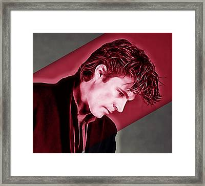 Ricky Nelson Collection Framed Print by Marvin Blaine