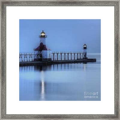 Saint Joseph, Michigan Lighthouse Framed Print by Twenty Two North Photography