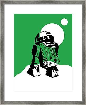 Star Wars R2-d2 Collection Framed Print