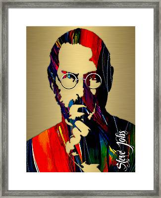 Steve Jobs Collection Framed Print