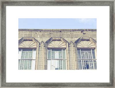 Stone Building Framed Print