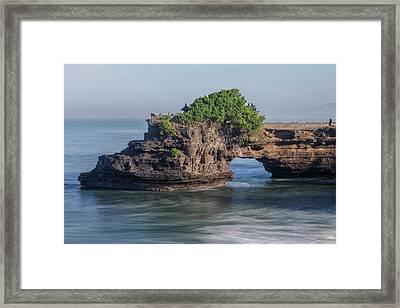 Tanah Lot - Bali Framed Print