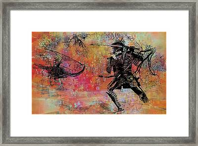 The Way Of The Dragon Framed Print