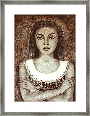 Untitled Framed Print by Padmakar Kappagantula