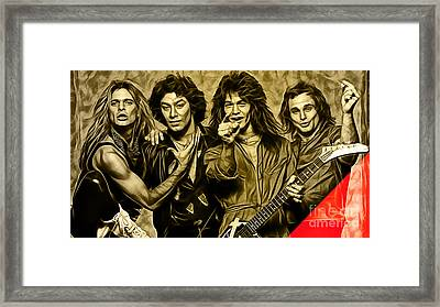 Van Halen Collection Framed Print