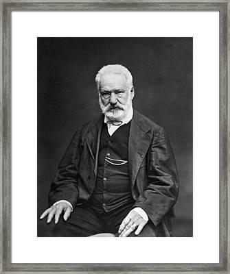 Victor Hugo (1802-1885) Framed Print by Granger