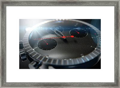 Watch Closeups Framed Print
