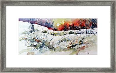 Winter Framed Print by Kovacs Anna Brigitta