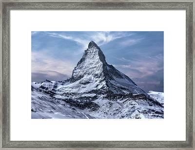 Zermatt - Switzerland Framed Print by Joana Kruse